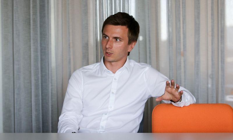 """Žymantas Baušys, UAB """"ACC Distribution"""" direktorius. Vladimiro Ivanovo (VŽ) nuotr."""