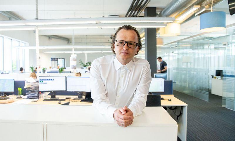 """Justas Versnickas, """"Delamode Baltics"""" vadovas: procesų organizavimas leidžia paprastiems darbuotojams viršyti talentų efektyvumą. JUDITOS GRIGELYTĖS (VŽ) NUOTR."""