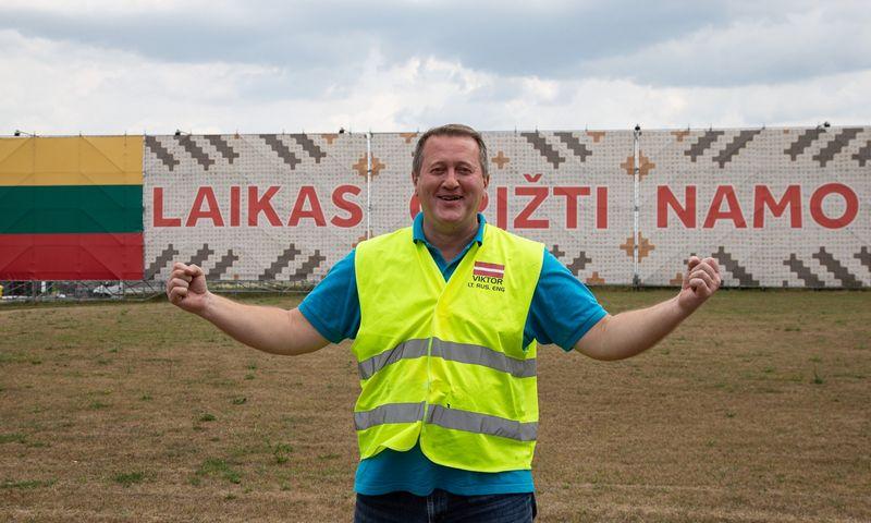 """""""Man nesunku gyventi Lietuvoje, nes esu pozityvus"""", – sako Viktoras Voroncovas, UAB """"Layher Baltic"""" generalinis direktorius. Vladimiro ivanovo (VŽ) nuotr."""