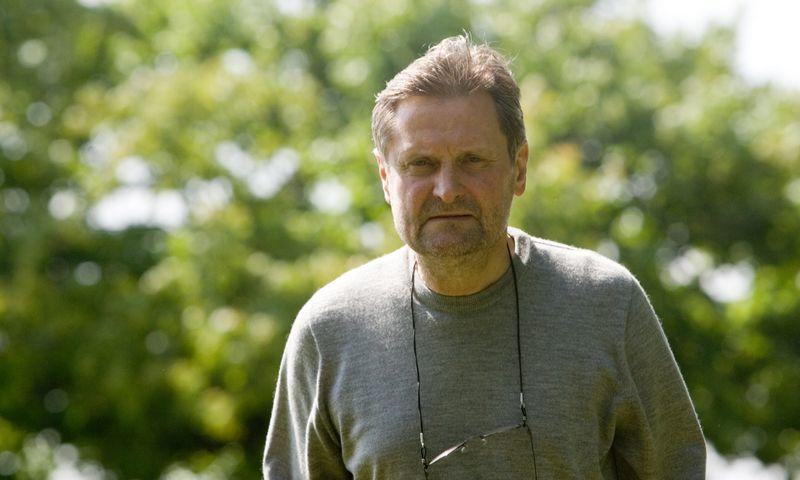 Archeologas Saulius Vadišis (1955– 2019), Valstybinio Kernavės kultūrinio rezervato (VKKR) direktorius. Vladimiro Ivanovo (VŽ) nuotr.