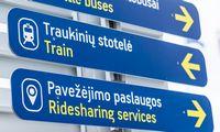 Vilniaus oro uoste atidaryta aikštelė pavežėjams