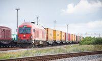 Pradėjo kursuoti konteinerinis traukinys iš Klaipėdos į Kijevą