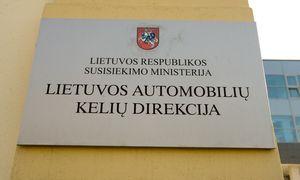 Vyriausybė pritarė Kelių direkcijos pertvarkymui į valstybės įmonę