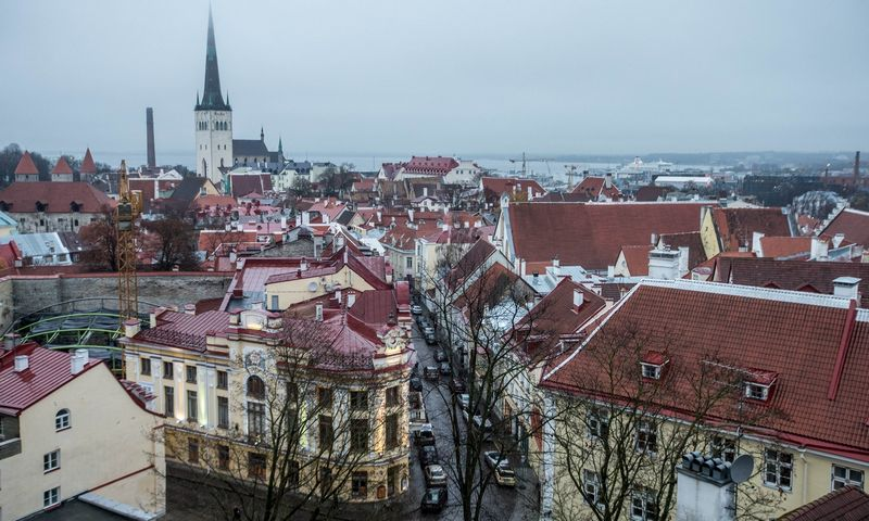 Estiijos sostinė Talinas. Senamiestis. Juditos Grigelytės (VŽ) nuotr.