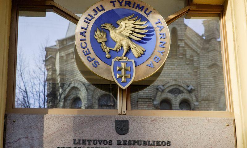 Specialiųjų tyrimų tarnybos būstinė A. Jakšto gatvėje Vilniuje. Vladimiro Ivanovo (VŽ) nuotr.