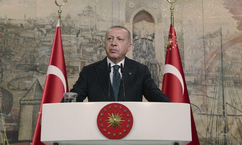"""Turkijos prezidento tarnybos / AP / """"Scanpix"""" nuotr."""