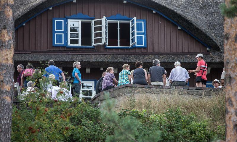 Vokiečių rašytojo, Nobelio literatūros premijos laureato Thomo Manno kultūros centras Nidoje.  Juditos Grigelytės (VŽ) nuotr.