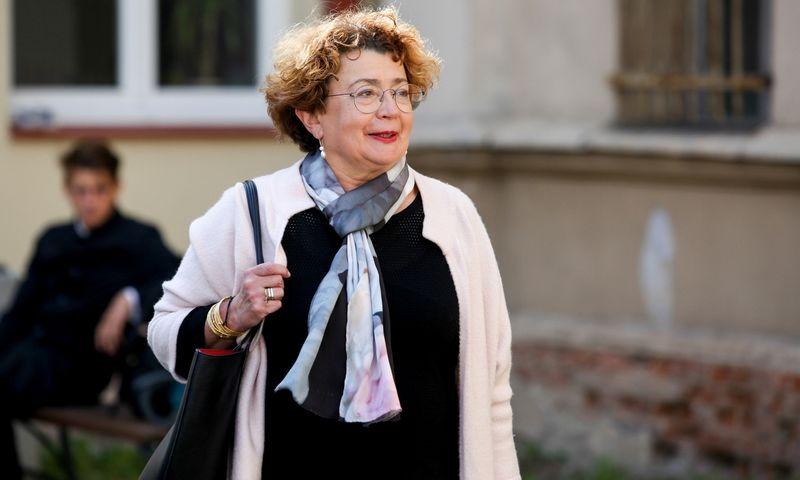 """Faina Kukliansky, Lietuvos žydų bendruomenės pirmininkė. Vidmanto Balkūno (""""15min"""") nuotr."""