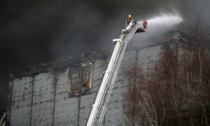 """""""Ocado"""" suskaičiavo: gaisras sandėlyje padarė 110 mln. GBP nuostolio"""