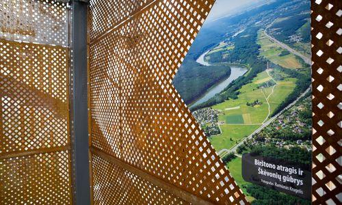 Birštono apgultis: į naująjį apžvalgos bokštą įkopė apie 10.000 žmonių