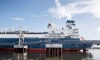 """Į Klaipėdą atplaukia didelis dujovežis su """"Total"""" SGD kroviniu"""