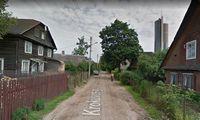 Ruošiasi sutvarkyti neasfaltuotą gatvę Vilniaus Šnipiškėse