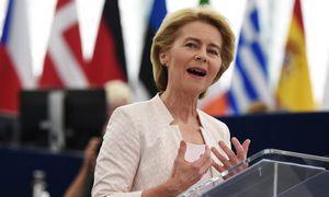 U. von der Leyen gynė savo kandidatūrąį EK vadovės postą