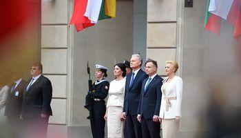 G. Nausėda kviečia Lenkijos bankus į Lietuvą