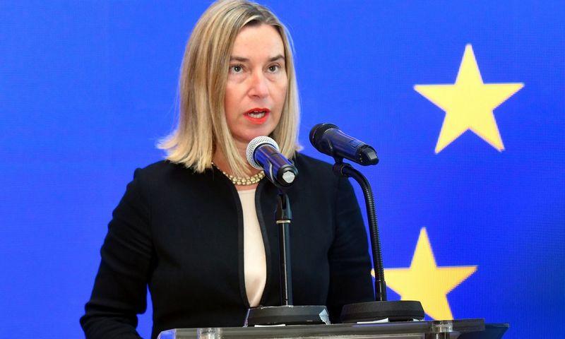 """Federica Mogherini (""""AFP"""" / """"Scanpix"""") nuotr."""