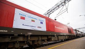 Vilnių sieks paversti siuntų iš Kinijos logistikos centru Europoje