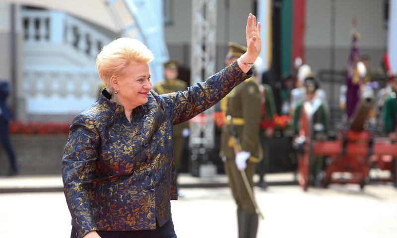Dalia Grybauskaitė liepos 12 d. baigė dešimtmetį trukusį darbą valstybės prezidentės poste. Vladimiro Ivanovo (VŽ) nuotr.