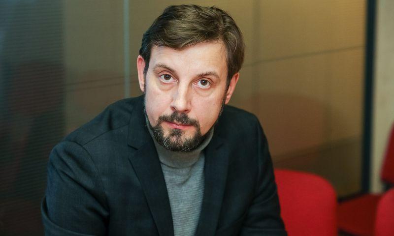 """Kristinas Taukačikas, ilgametis komunikacijos agentūros """"Bosanova"""" vadovas, šiemet pardavė didžiąją dalį akcijų ir pasitraukė iš šių pareigų. Vladimiro Ivanovo (VŽ) nuotr."""