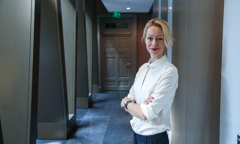 """Egidija Bružienė, """"Baltic Sotheby`s"""" partnerė. Vladimiro Ivanovo (VŽ) nuotr."""