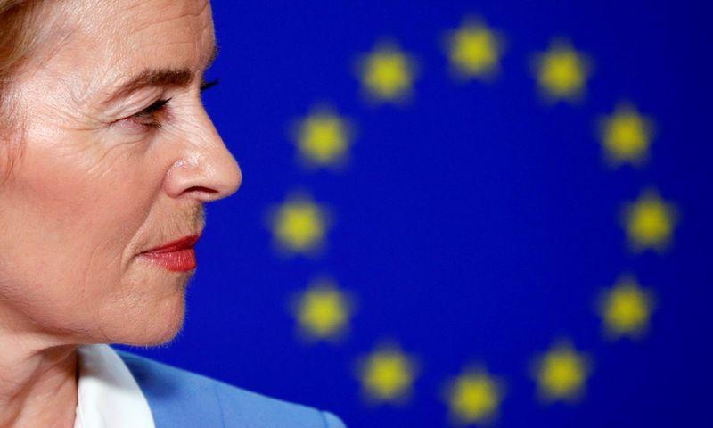"""Ursula von der Leyen,. Francois Lenoiro """"Reuters"""" / """"Scanpix"""" nuotr."""