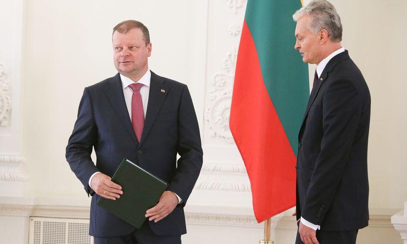 Vyriausybės įgaliojimų prezidentui grąžino praėjusį penktadienį. Vladimiro Ivanovo (VŽ) nuotr.