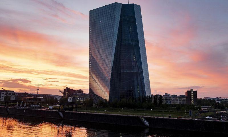 "ECB centrinė būstinė Frankfurte. Michaelo Probsto (""Reuters"" / ""Scanpix"") nuotr."