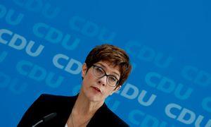 A. Kramp-Karrenbauer tapo naująja Vokietijos gynybos ministre
