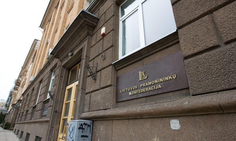Lietuvos pramonininkų konfederacija šiuo metu ieško naujų patalpų, nes baigėsi ilgus metus turėta palanki panaudos sutartis. Juditos Grigelytės (VŽ) nuotr.