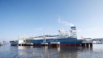 Į Klaipėdą atplaukia naujas nedidelis SGD krovinys iš Vysocko