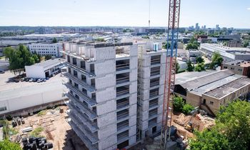 Registrų centras: naujų butų kainos Vilniuje per metus sumažėjo 2,5%