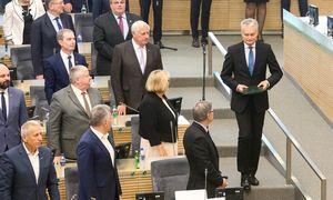 Seimas ėmėsi svarstyti S. Skvernelio kandidatūrą į premjerus