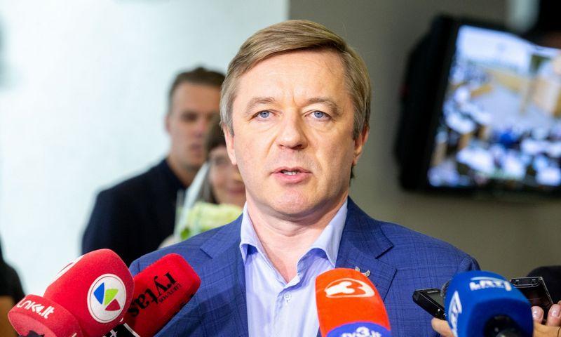 Seimo posėdis. Seimo narys Ramūnas Karbauskis. Juditos Grigelytės (VŽ) nuotr.