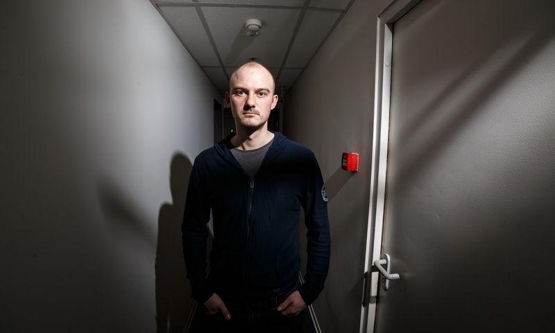 """Giedrius Meškauskas, UAB """"TeraSky Baltic"""" Kibernetinio saugumo paslaugų ir operacijų vadovas. Vladimiro Ivanovo (VŽ) nuotr."""
