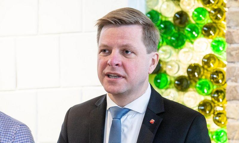 Vilniaus meras Remigijus Šimašius, Juditos Grigelytės (VŽ) nuotr.