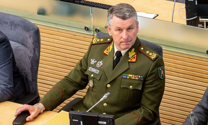 Būsimasis kariuomenės vadas generolas majoras Valdemaras Rupšys. Juditos Grigelytės (VŽ) nuotr.