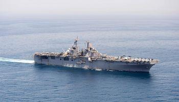 D. Trumpas: JAV pajėgos numušė Irano bepilotį orlaivį