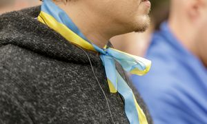 Ukrainoje jau balsavo 35,77% rinkėjų, pradėtas 21 tyrimas dėl pažeidimų