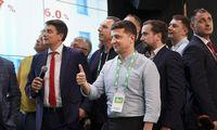 Ukrainoje laimėjo V. Zelenskio partija,koalicijosneprireiks
