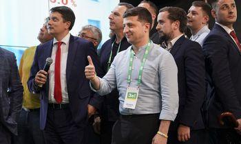Ukrainos parlamento rinkimai – pirmasis testas V. Zelenskiui