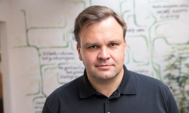 """Giedrius Oliškevičius UAB """"Sorbum Group"""" generalinis direktorius. Vladimiro Ivanovo (VŽ) nuotr."""