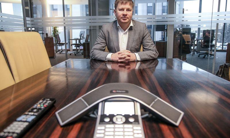 """Vytautas Plunksnis, UAB """"INVL Asset Management"""" valdybos narys, privataus kapitalo padalinio vadovas. Vladimiro Ivanovo (VŽ) nuotr."""