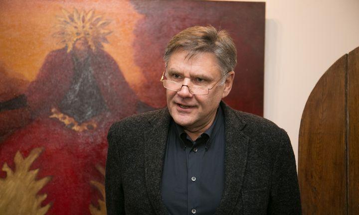Verslininkas ir kolekcininkas V. Martikonis Vilniuje atidaro galeriją