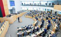 Seime diskutuojama, ar skirti S. Skvernelį premjeru