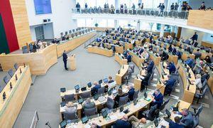 Seimas diskutuos, ar skirti S. Skvernelį premjeru