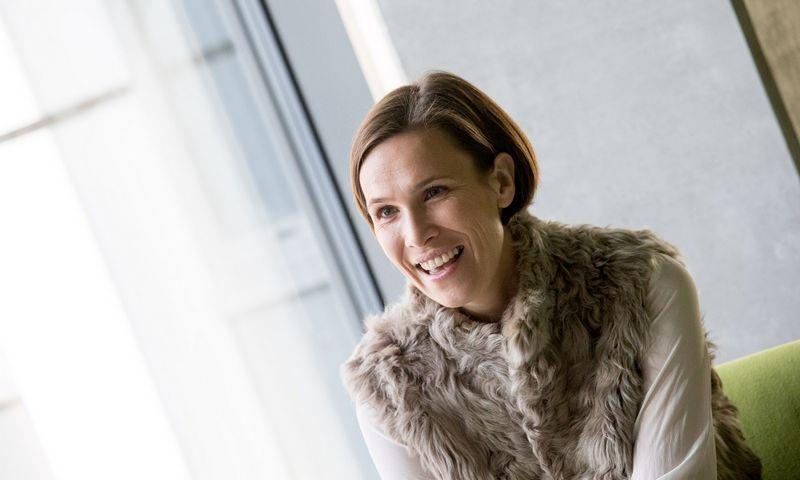 Urtė Neniškytė, Vilniaus universiteto neuromokslininkė, molekulinės neurobiologijos laboratorijos įkūrėja. Juditos Grigelytės (VŽ) nuotr.