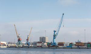 Pirmąjį pusmetį Klaipėdos uostas augo, antrasis pusmetis gali būti kuklesnis