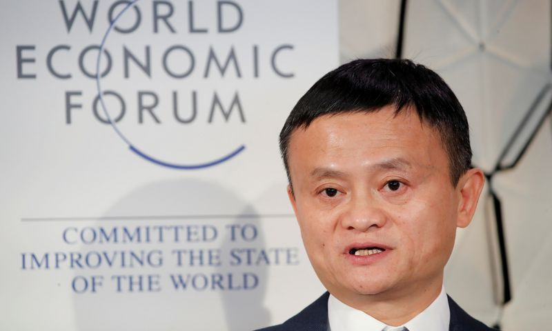 "Jack Ma, ""Alibaba Group"" įkūrėjas. Arndo Wiegmanno (""Reuters"" / ""Scanpix"") nuotr."
