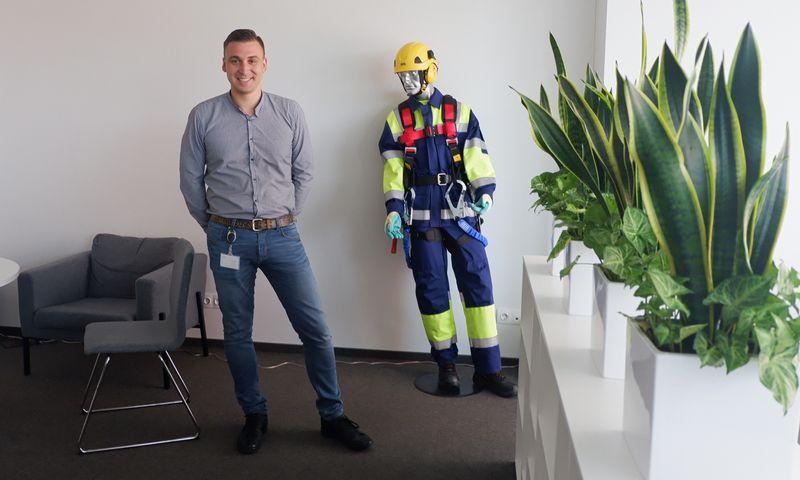 """Vadimas Kiseliovas, UAB """"Globalita"""" direktorius: """"Kai kiekvienas darbuotojas įmonėje jaučiasi gerai, tai netrunka pajusti ir užsakovai."""" Rasos Dževeckytės (VŽ) nuotr."""