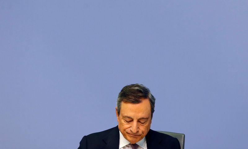 "Mario Draghi, ECB prezidentas.  Ralph Orlowski (""Reuters"" / ""Scanpix"") nuotr."