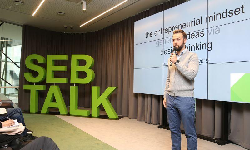 """Andrius Bolšaitis, paskolų platformos """"Viventor"""" vadovas, buvęs SEB inovacijų centro vadovas. Vladimiro Ivanovo (VŽ) nuotr."""